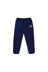 Детские спортивные брюки Россия с гербом темно-синие (арт.149360)