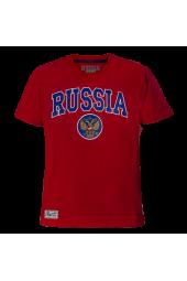 Футболка Россия красная арт. 131770