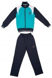 Детский спортивный костюм бирюзовый  (11C-RR-1051-2)