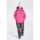 Женский зимний утепленный горнолыжный костюм (арт.Snow 76-2)