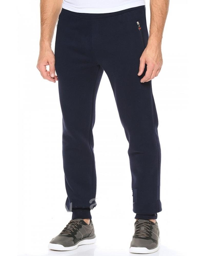 02265afc Мужские спортивные штаны на манжетах темно-синие купить недорого в ...