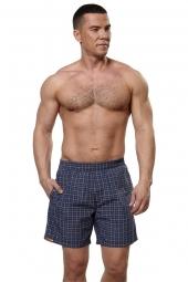 Мужские шорты короткие в клетку (412M-RG-900-2)