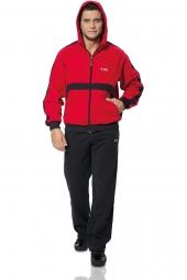 Мужской спортивный костюм красный (S-234)